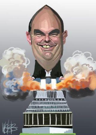 Steven Joyce 2011 - Bryce Edwards liberation blog www.liberation.org.nz