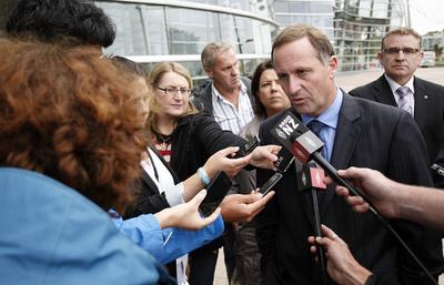 NZ Politics Daily - Bryce Edwards Otago University liberation blog - www.liberation.org.nz john key earthquake 2