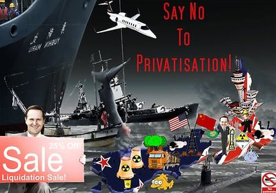 Privatisation NZ Politics Daily - Bryce Edwards Otago University liberation blog - www.liberation.org.nz
