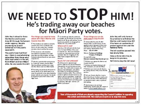 NZ Politics Daily - Bryce Edwards liberation blog - www.liberation.org.nz foreshore ad 2