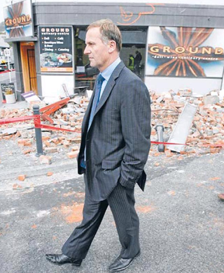 NZ Politics Daily - Bryce Edwards Otago University liberation blog - www.liberation.org.nz john key earthquake