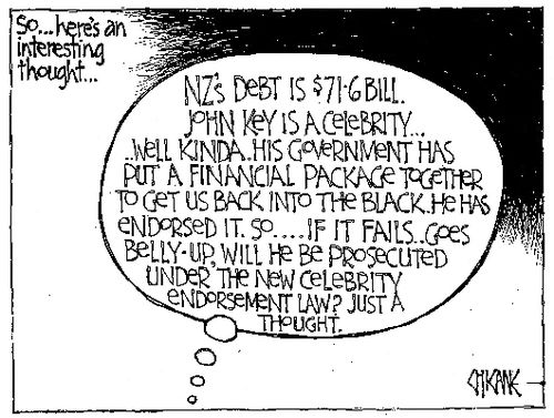 John key promises NZ Politics Daily - Bryce Edwards Otago University liberation blog - www.liberation.org.nz