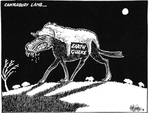 Canterbury lamb.earthquake NZ Politics Daily Bryce Edwards University of Otago liberation blog www.liberation.org.nz