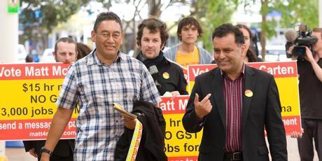 1 mccarten harawira mana party maori NZ Politics Daily - Bryce Edwards Otago University liberation blog - www.liberation.org.nz