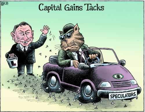 Capital Gains Tax Labour NZ Politics Daily - Bryce Edwards Otago University liberation blog - www.liberation.org.nz 2011