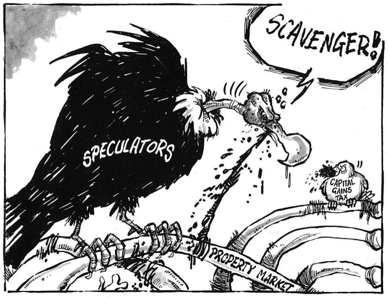 Capital gains tax NZ Politics Daily - Bryce Edwards Otago University liberation blog - www.liberation.org.nz