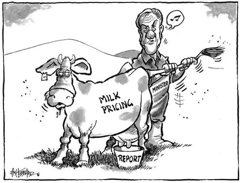 Milk pricing. NZ Politics Daily - Bryce Edwards Otago University liberation blog - www.liberation.org.nz