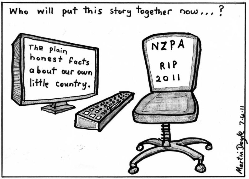 NZPA Press Association NZ Politics Daily Bryce Edwards University of Otago liberation blog www.liberation.org.nz  2011