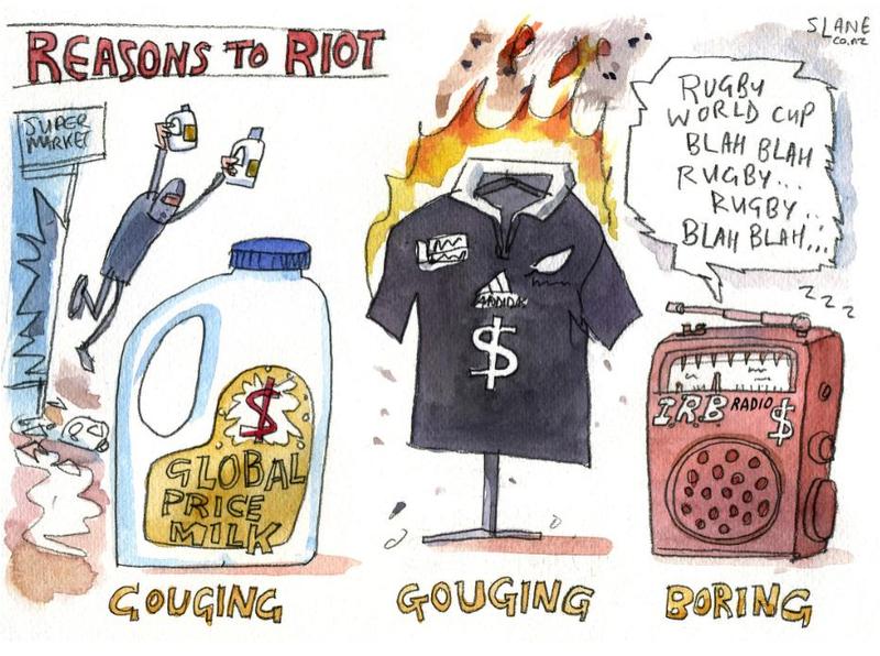 Reasons to riot NZ Politics Daily Bryce Edwards University of Otago liberation blog www.liberation.org.nz