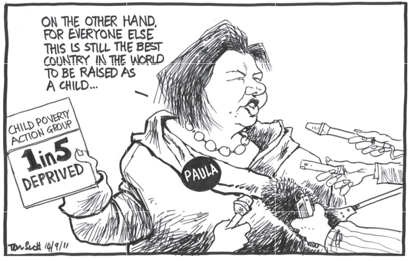 Paula Bennett child poverty action group NZ Politics Daily Bryce Edwards University of Otago liberation blog www.liberation.org.nz