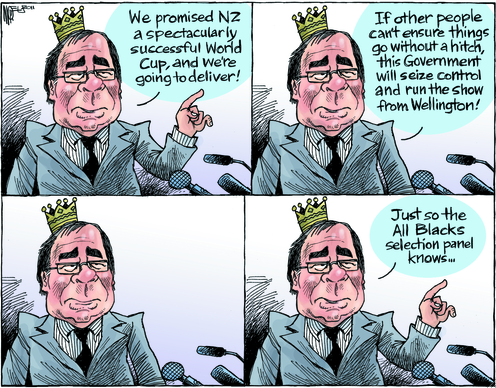 Rugby World Cup Murray McCully NZ Politics Daily - Bryce Edwards Otago University liberation blog - www.liberation.org.nz