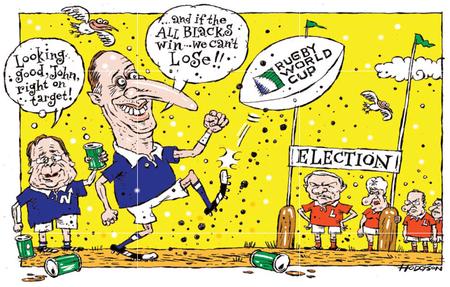 National Party election RWC NZ Politics Daily - Bryce Edwards Otago University liberation blog - www.liberation.org.nz