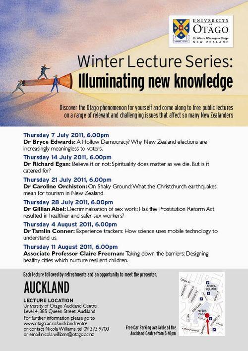 AK WLS Poster 2011 NZ Politics Daily - Bryce Edwards Otago University liberation blog - www.liberation.org.nz