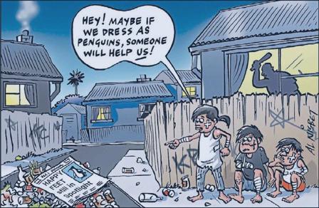 Poverty inequality NZ Politics Daily - Bryce Edwards Otago University liberation blog - www.liberation.org.nz