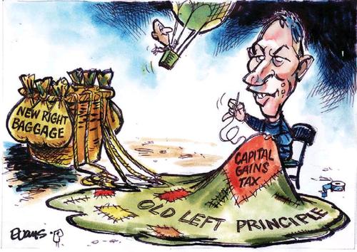 Cgt capital gains tax NZ Politics Daily - Bryce Edwards Otago University liberation blog - www.liberation.org.nz