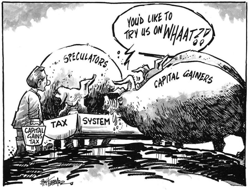Capital gains tax labour NZ Politics Daily - Bryce Edwards Otago University liberation blog - www.liberation.org.nz
