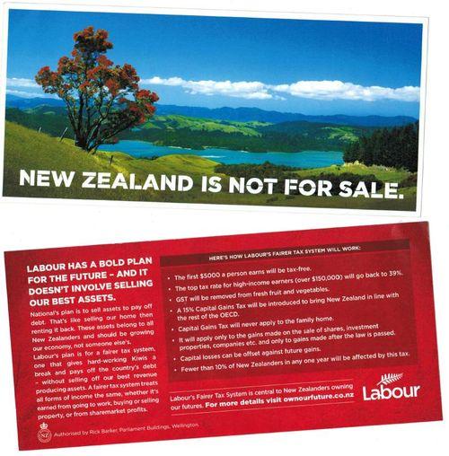 Labour-Postcard-July-2011 NZ Politics Daily - Bryce Edwards Otago University liberation blog - www.liberation.org.nz