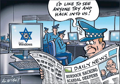 Israel spy policy hack computers NZ Politics Daily - Bryce Edwards Otago University liberation blog - www.liberation.org.nz