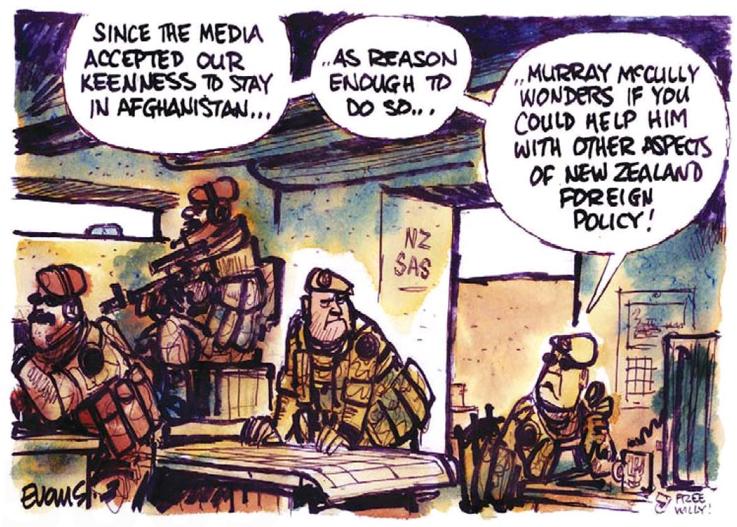 SAS Afghanistan NZ Politics Daily - Bryce Edwards Otago University liberation blog - www.liberation.org.nz