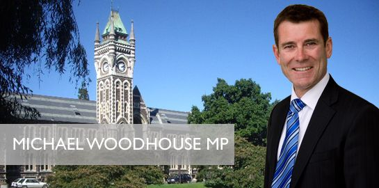 Michael Woodhouse National Dunedin NZ Politics Daily - Bryce Edwards Otago University liberation blog - www.liberation.org.nz