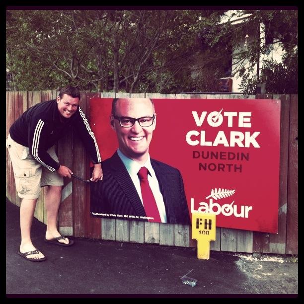 David Clark Labour Dunedin NZ Politics Daily - Bryce Edwards Otago University liberation blog - www.liberation.org.nz