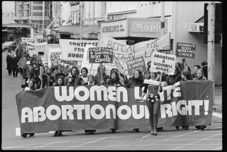 Feminist protest Greens Niki Lomax NZ Politics Daily - Bryce Edwards Otago University liberation blog - www.liberation.org.nz