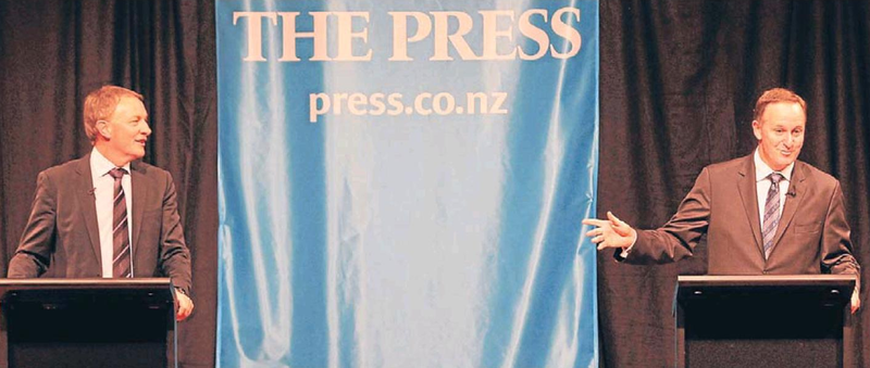 Press leaders debate NZ Politics Daily Bryce Edwards University of Otago liberation blog www.liberation.org.nz