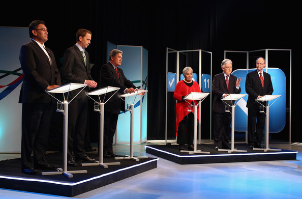Minor party leaders debate NZ Politics Daily - Bryce Edwards Otago University liberation blog - www.liberation.org.nz