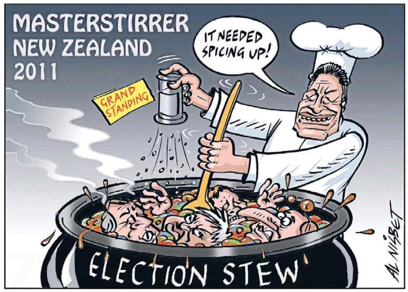5 NZ Politics Daily - Bryce Edwards Otago University liberation blog - www.liberation.org.nz