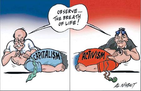Left right mana party act party NZ Politics Daily - Bryce Edwards Otago University liberation blog - www.liberation.org.nz