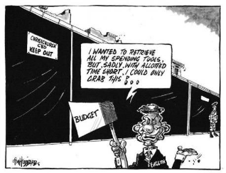 L Budget 2011 National NZ Politics Daily - Bryce Edwards Otago University liberation blog - www.liberation.org.nz
