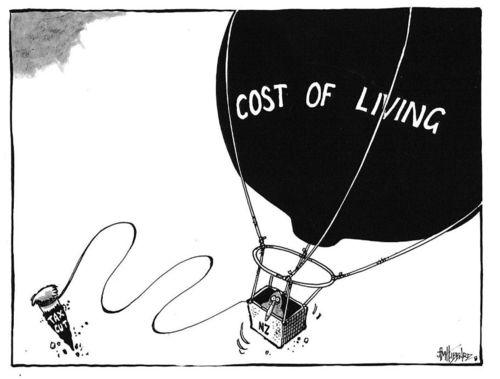 Cost of living NZ Politics Daily Bryce Edwards University of Otago liberation blog www.liberation.org.nz