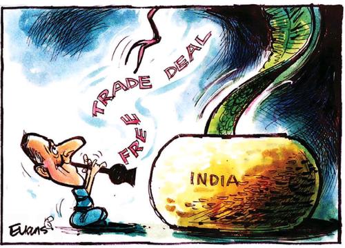 India Free trade agreement NZ Politics Daily - Bryce Edwards Otago University liberation blog - www.liberation.org.nz