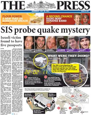 Israeli spy allegations NZ Politics Daily - Bryce Edwards Otago University liberation blog - www.liberation.org.nz