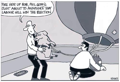 LAbour Party polling NZ Politics Daily - Bryce Edwards Otago University liberation blog - www.liberation.org.nz