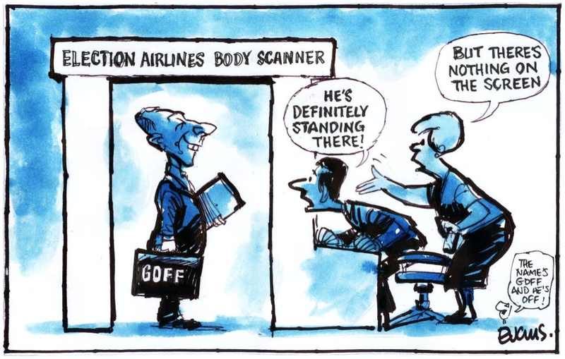Labour Goff Election airlines body scanner NZ Politics Daily - Bryce Edwards Otago University liberation blog - www.liberation.org.nz