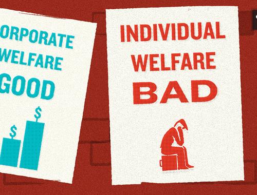 Corporate welfare NZ Politics Daily - Bryce Edwards Otago University liberation blog - www.liberation.org.nz