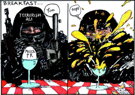 Urewera police raids operation 8 NZ Politics Daily - Bryce Edwards Otago University liberation blog - www.liberation.org.nz