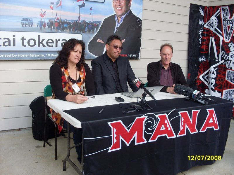 Mana Party Harawira NZ Politics Daily - Bryce Edwards Otago University liberation blog - www.liberation.org.nz