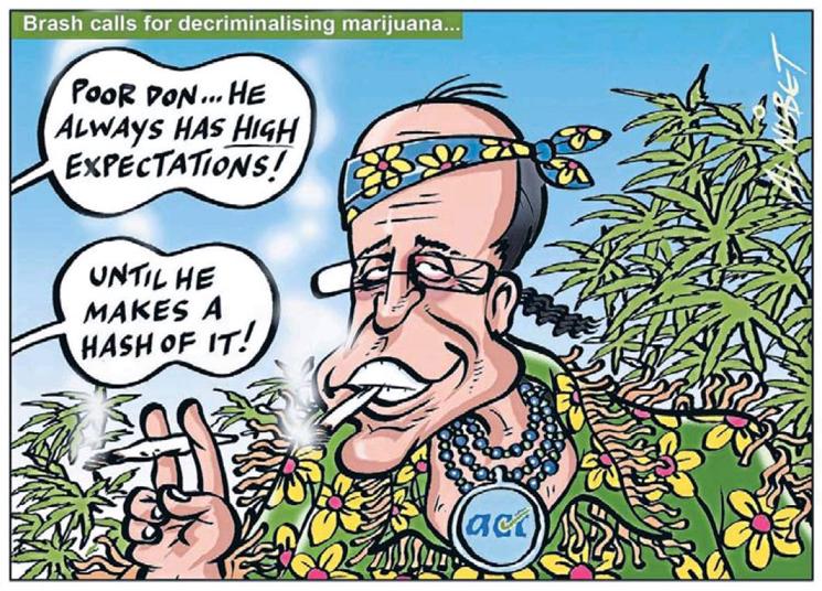 Don Brash Act Party drugs NZ Politics Daily - Bryce Edwards Otago University liberation blog - www.liberation.org.nz