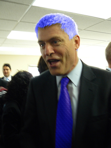 Blue tie Tim Macindoe Vote Chat NZ Politics Daily - Bryce Edwards Otago University liberation blog - www.liberation.org.nz