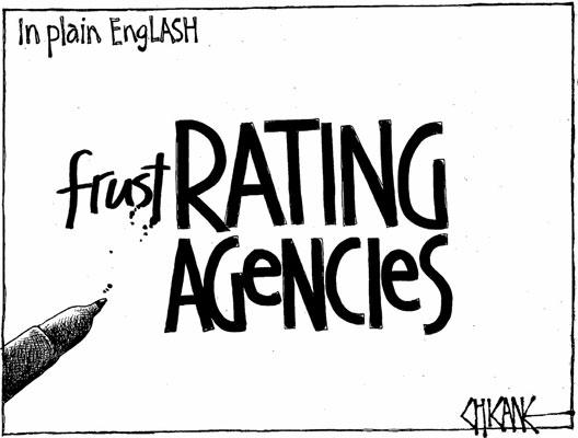 Economy rating agencies NZ Politics Daily - Bryce Edwards Otago University liberation blog - www.liberation.org.nz