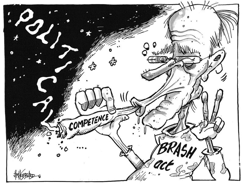 Don Brash Act Party NZ Politics Daily - Bryce Edwards Otago University liberation blog - www.liberation.org.nz
