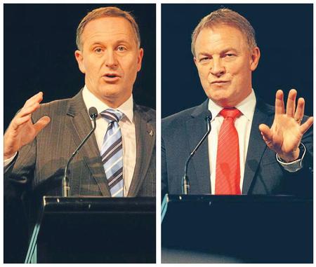 Key Goff leaders debate NZ Politics Daily Bryce Edwards University of Otago liberation blog www.liberation.org.nz