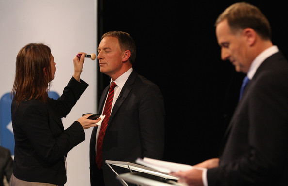 Makeup goff leaders debate NZ Politics Daily Bryce Edwards University of Otago liberation blog www.liberation.org.nz