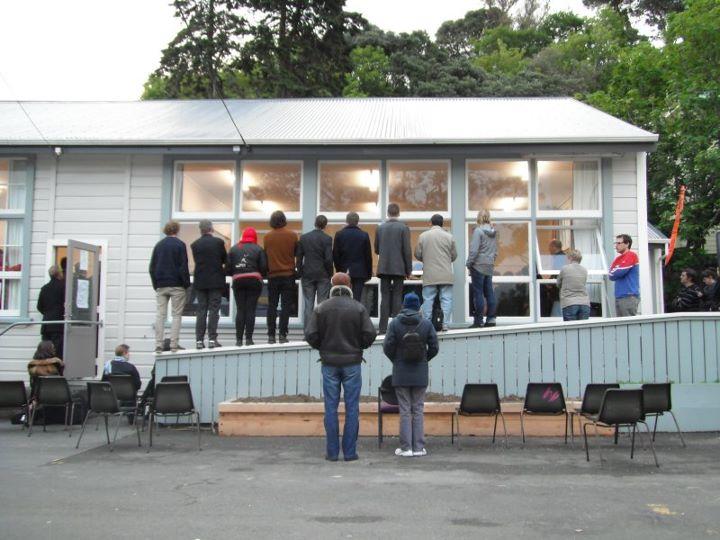 Aro valley wellington central meeting NZ Politics Daily Bryce Edwards University of Otago liberation blog www.liberation.org.nz