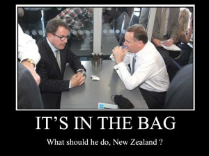 Its in the bag epsom NZ Politics Daily - Bryce Edwards Otago University liberation blog - www.liberation.org.nz