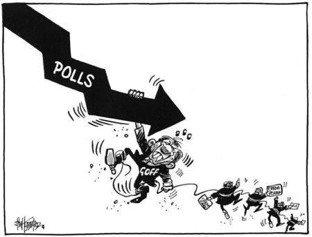Opinion polls michelle nicol NZ Politics Daily Bryce Edwards University of Otago liberation blog www.liberation.org.nz