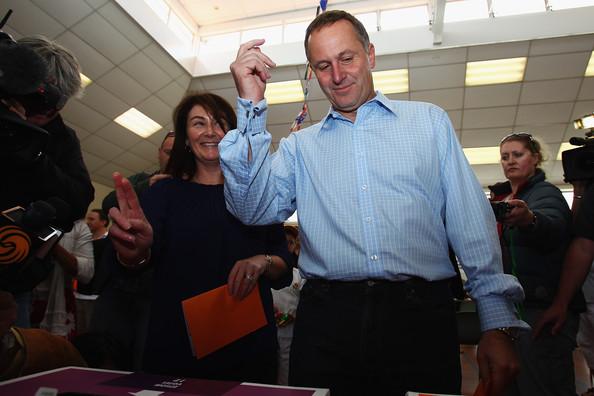 13 voting john key  2011 election campaign NZ Politics Daily - Bryce Edwards Otago University liberation blog - www.liberation.org.nz