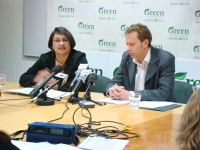 Turei and Norman Greens Niki Lomax NZ Politics Daily - Bryce Edwards Otago University liberation blog - www.liberation.org.nz